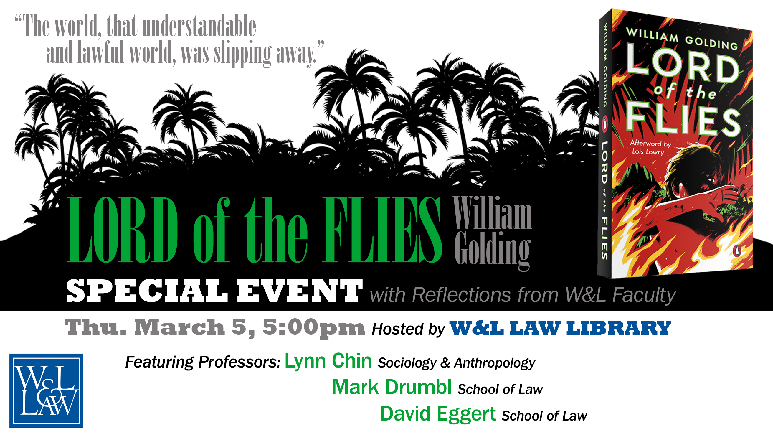 W&L Law Community Read: Lord of the Flies