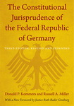The Constitutional Jurisprudence of the Federal Republic of Germany (3d ed. 2012)