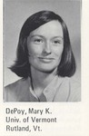 Mary Kay Depoy Harris, 1978L, First Woman to Head Law Review