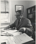 Dean Steinheimer in Tucker Hall Office