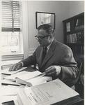 Dean Steinheimer in Tucker Hall Office