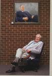 Dean Steinheimer with his Portrait