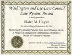 Law Council Award