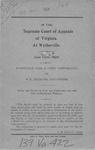 Burneagle Coal and Coke Corporation v. W.P. Henritze, et al.