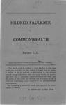 Hilbred Faulkner v. Town of South Boston