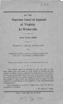 Morgan T. Smith v. Virginia Iron, Coal and Coke Company and M.C. Jackson