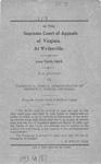 W.B. Stanley v. Voorhies E. Tomlin, Administrator of Bernice V. Tomlin, deceased