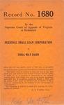 Personal Small Loan Corporation v. Dora May Dahn