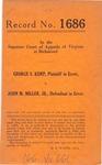 George S. Kemp v. John M. Miller, Jr.