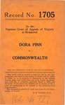 Dora Pinn v. Commonwealth of Virginia