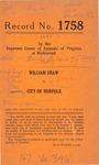 William Shaw v. City of Norfolk