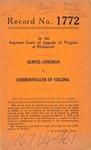Samuel Longman v. Commonwealth of Virginia