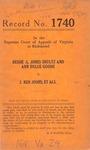 Bessie G. Jones Shultz and Ann Dulce Goode v. J. Ben Jones, et al.