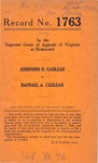 Josephine D. Casilear v. Raphael A. Casilear