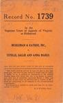 Muhleman and Kayhoe, Inc. v. Estelle, Sallie and Anna Marks