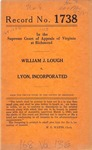 William J. Lough v. Lyon, Inc.
