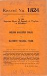 Melvin Augustus Toler v. Kathryn Virginia Toler