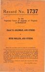 Isaac H. Goldman, et al. v. Myer Mollen, et al.