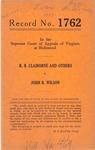 R. B. Claiborne, et al., Trustees of Liberty Baptist Church, etc. v. John B. Wilson