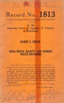 Harry E. Bruce v. Rosa Bruce Elliott and Robert Bruce Brothers