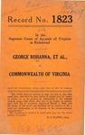 George Rohanna, et al. v. Commonwealth of Virginia