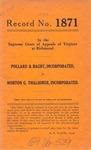Pollard & Bagby, Inc. v. Morton G. Thalhimer, Inc.