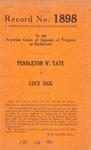 Pendleton W. Tate v. Lucy Ogg
