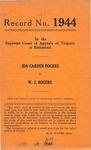 Ida Carden Rogers v. W. J. Rogers