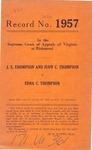 J. S. Thompson and Judy C. Thompson v. Edna C. Thompson