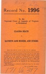 Claudia Heath v. Kathryn Jane Mooers and Mooers Motor Car Company, Inc.