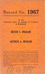 Bessie C. Ingram v. Arthur A. Ingram