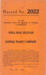 Viola Rose Sullivan v. Suffolk Peanut Company