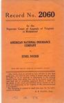 American National Insurance Company v. Ethel Dozier