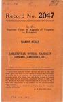 Marion Ayres v. Harleysville Mutual Casualty Company, Garnishee, etc.
