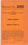 Nannie E. McQuown v. Charles H. Phaup, Jr.