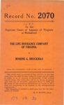 The Life Insurance Company of Virginia v. Myrene G. Brockman