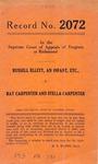 Russell Ellett, an Infant, etc. v. Ray Carpenter and Stella Carpenter