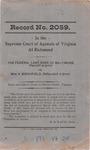 The Federal Land Bank of Baltimore v. William V. Birchfield