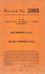Hope Morrison, et al. v. Walter L. Morrison, et al.