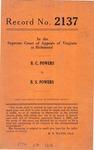 B. C. Powers v. B. S. Powers