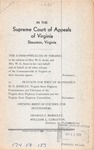 Commonwealth of Virginia, ex rel. Stone, etc. v. H. G. Shirley, State Highway Commissioner, etc.