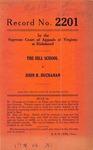 The Hill School v. John R. Buchanan