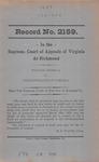 Walter Abdella v. Commonwealth of Virginia