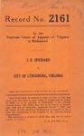 J. E. Spickard v. City of Lynchburg, Virginia
