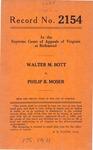 Walter M. Bott v. Philip B. Moser