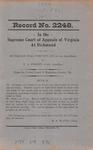 Buchanan Coal Company, Inc., et al. v. W. A. Street, et al.
