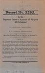 G. M. Huffman v. W. N. Jackson