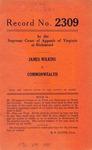 James Wilkins v. Commonwealth of Virginia
