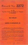 Max Schlain v. Samuel M. Richardson, Jr.
