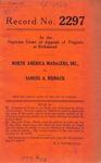 North America Managers, Inc. v. Samuel A. Reinach